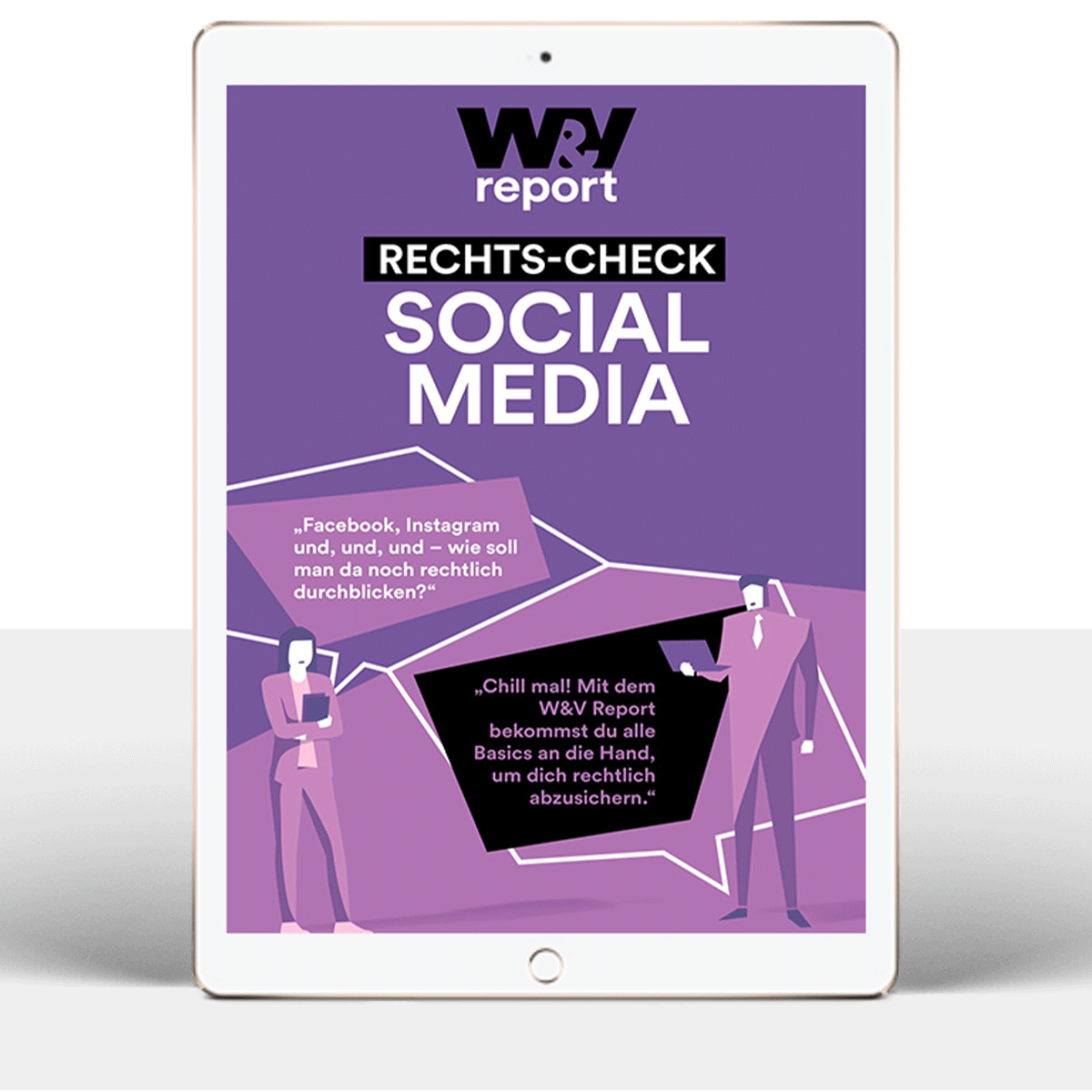 W&V Report: Rechts-Check Social Media